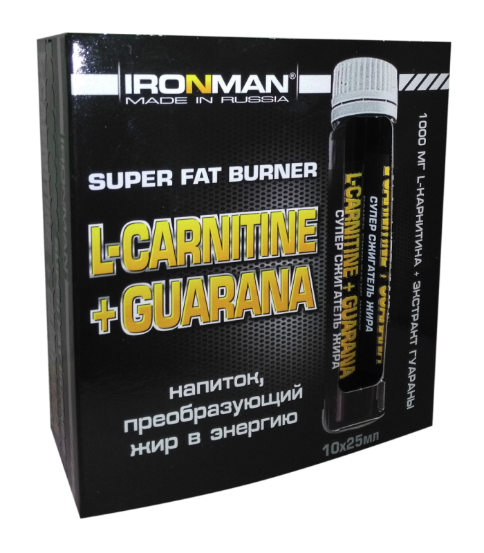 Iron man l карнитин
