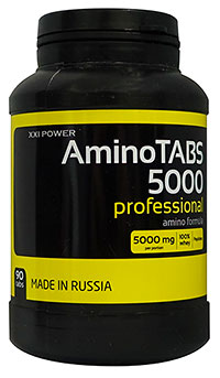 XXI Power Amino Tabs 5000