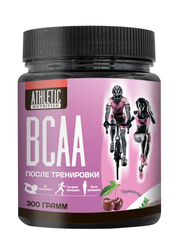 ATHLETIC NUTRITION BCAA powder (300 г.)