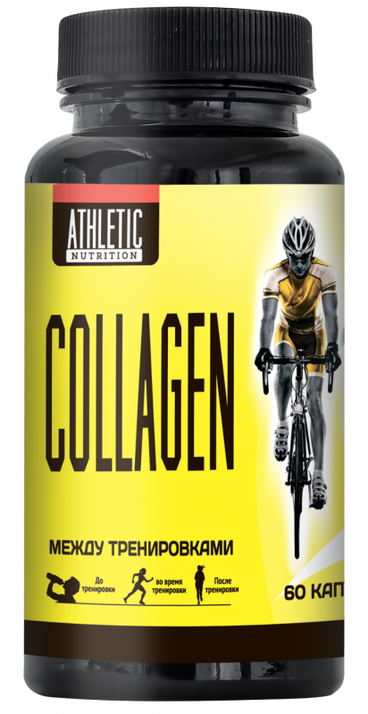 ATHLETIC NUTRITION COLLAGEN (60 капс.)