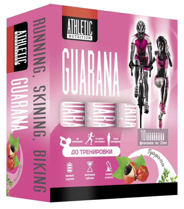 ATHLETIC NUTRITION GUARANA (10 фл. х 25 мл)