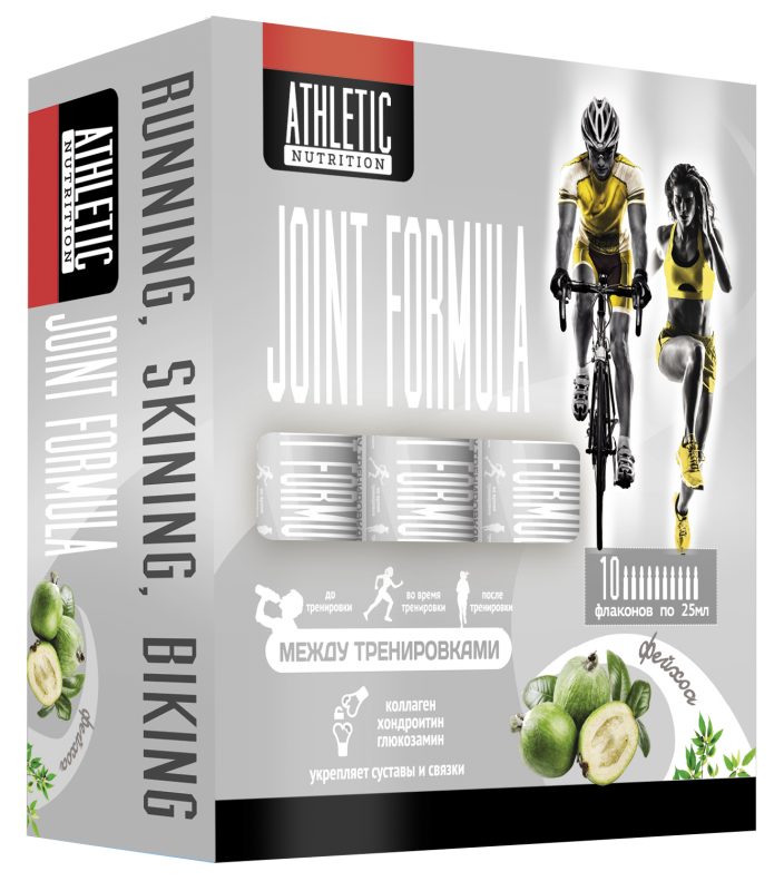 ATHLETIC NUTRITION  JOINT FORMULA (10 фл. х 25 мл)