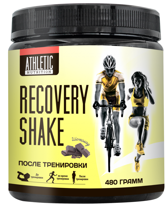 ATHLETIC NUTRITION Recovery Shake (480 г.)
