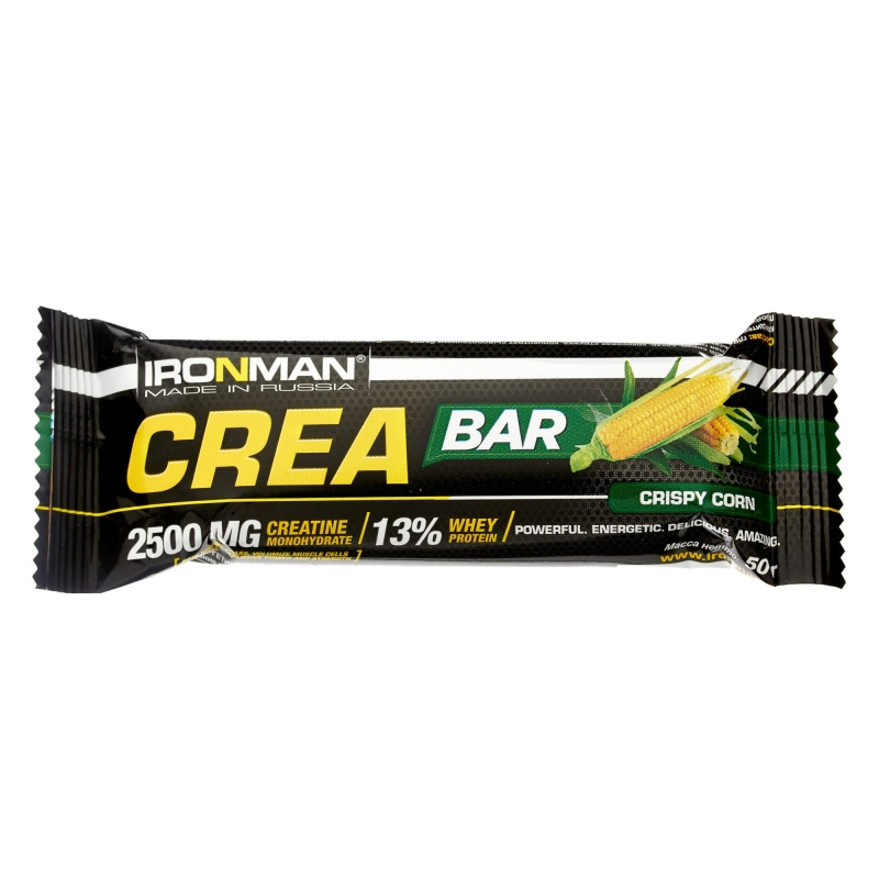 IRONMAN Crea Bar с креатином, 3 вкуса