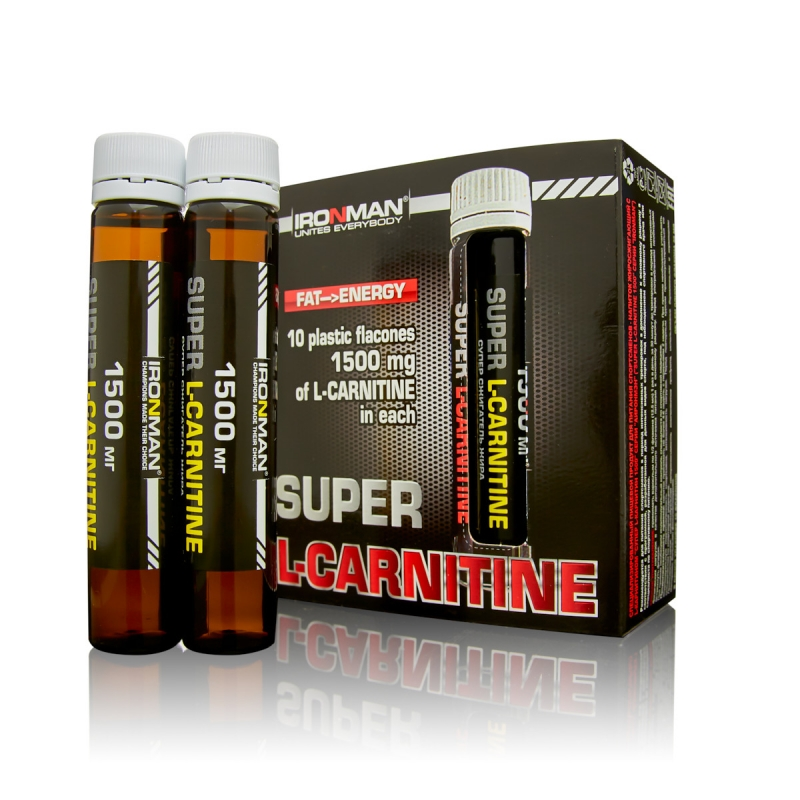 IRONMAN Super L-Carnitine (Супер L-карнитин)