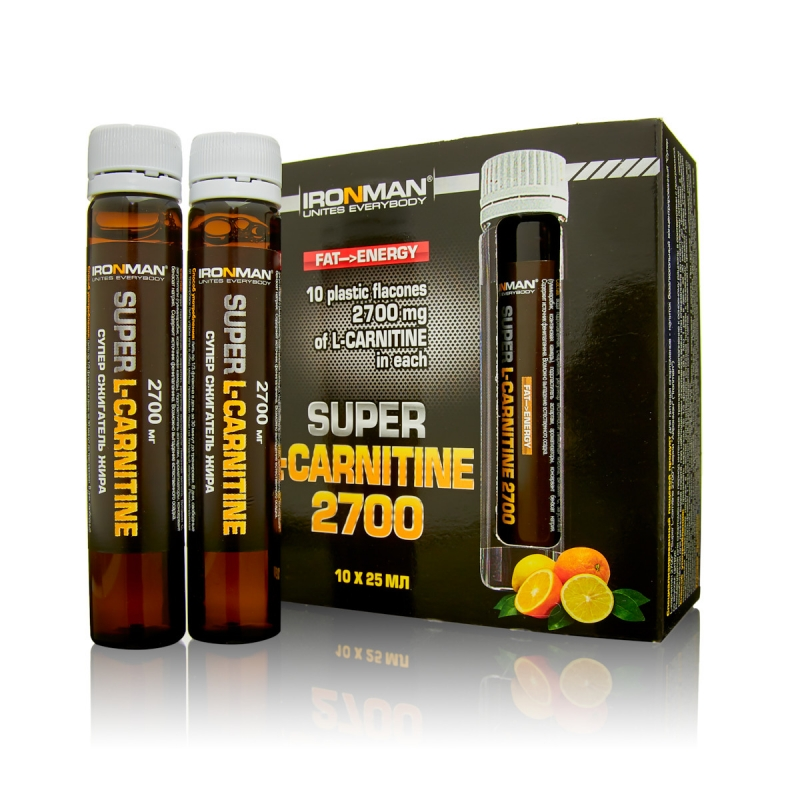 IRONMAN Super L-carnitine 2700 (Супер L-Карнитин 2700)