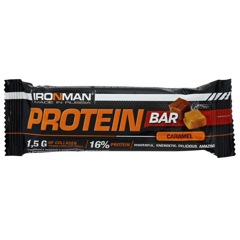 IRONMAN Protein Bar с коллагеном, 35 г