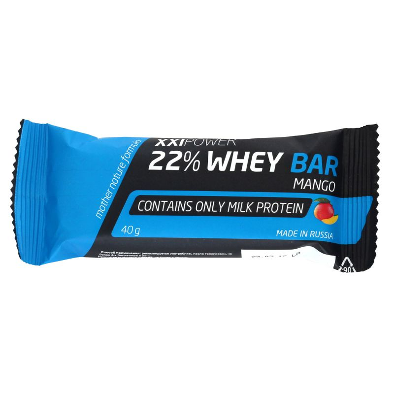 XXI Power 22% Whey Bar