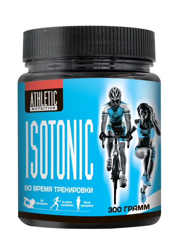 ATHLETIC NUTRITION ISOTONIC  (300 г.)