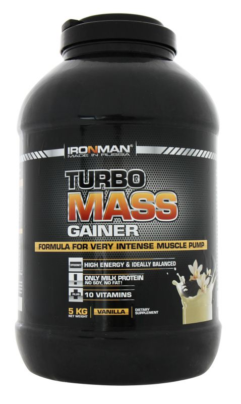 IRONMAN Turbo Mass Gainer (Турбо Масс Гейнер)