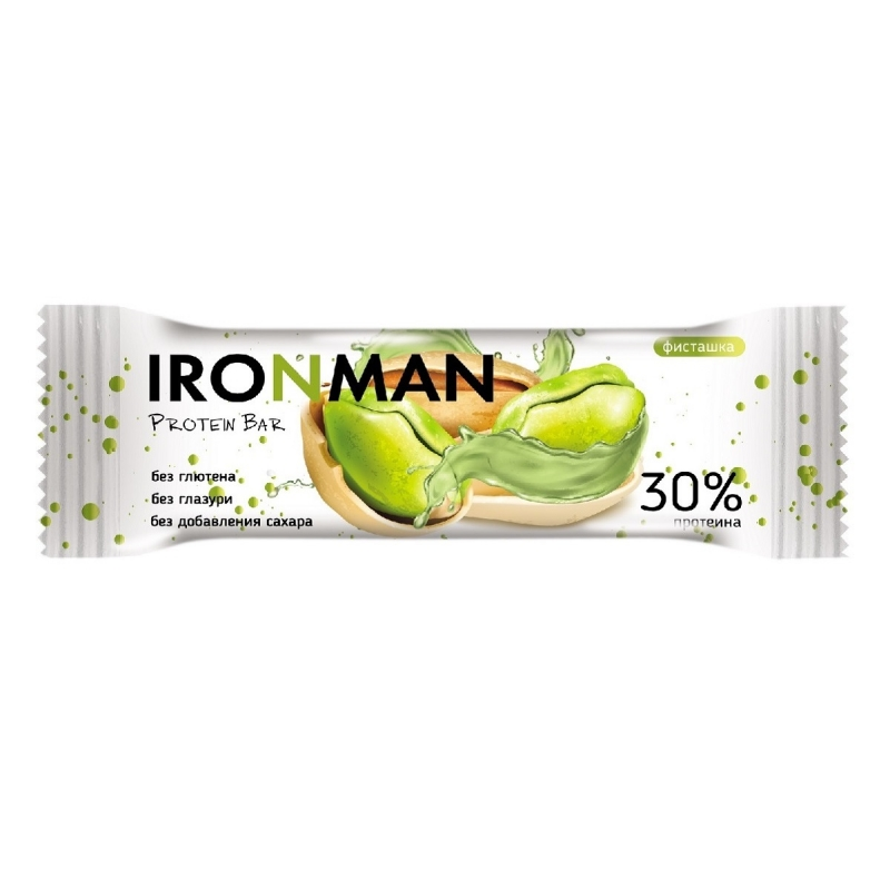 IRONMAN 30 Protein bar, без глазури, 2 вкуса